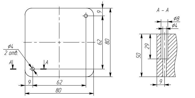 Схема подключения УВТР-10Б.D: