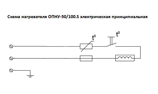 Схема подключения ОПНУ.